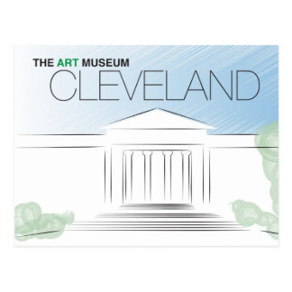 The Cleveland Art Museum Postcard