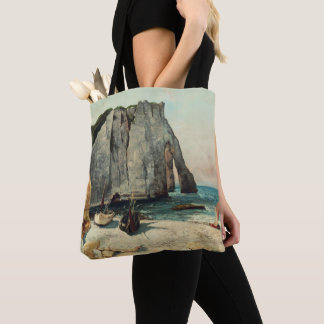 The Cliffs of Etretat, the Port of Avale Tote Bag