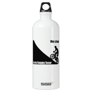 The Climb Is My Happy Hour Water Bottle