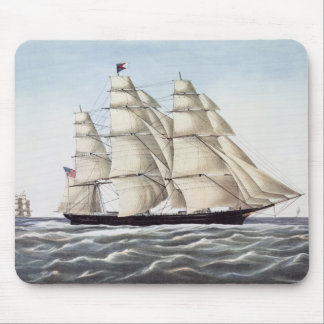 """The Clipper Ship """"Flying Cloud"""" Mouse Pad"""