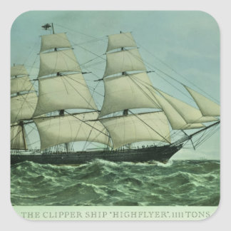The Clipper ship 'Highflyer', 1111 tons Stickers