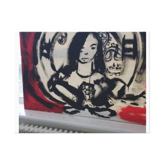 The clockwork ARTist Gallery Wrap Canvas