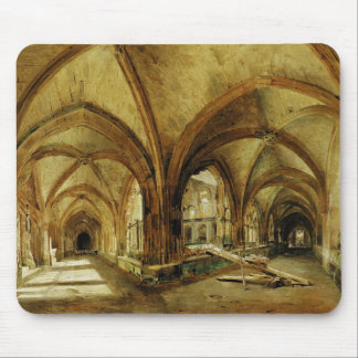The Cloisters of St. Wandrille, c.1825-30 Mouse Pad