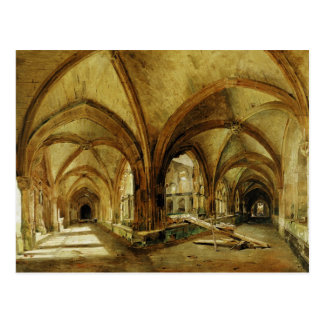 The Cloisters of St. Wandrille, c.1825-30 Postcard