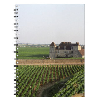 The Clos de Vougeot 16th century monastery and Notebooks