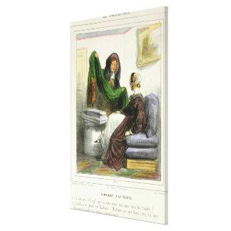 The Cloth Seller Canvas Print