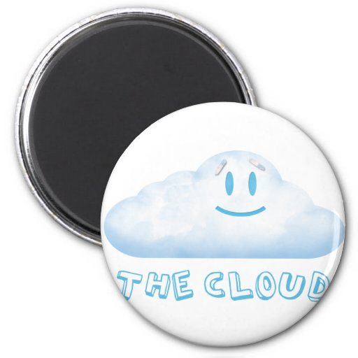 "The Cloud from ""The Bear, The Cloud, And God"" Magnets"