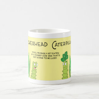 The Cloverhead Caterpillar Coffee Mug