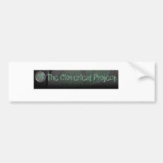 The Cloverleaf Project Bumper Sticker