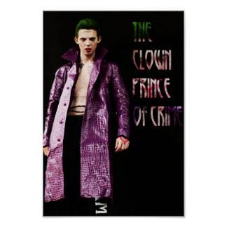 """""""The clown Prince Of Crime"""" post offices Print -"""