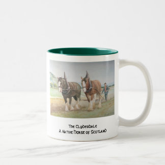 The Clydesdale Two-Tone Coffee Mug