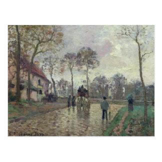The Coach to Louveciennes, 1870 Postcard