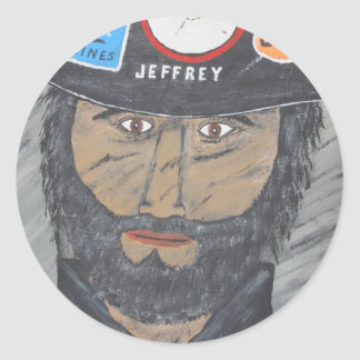 The Coal Man Classic Round Sticker