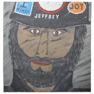The Coal Man Napkin