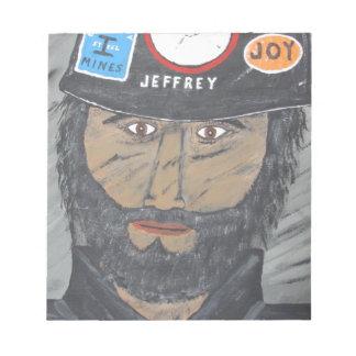 The Coal Man Notepad