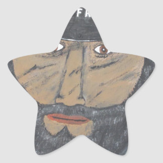 The Coal Man Star Sticker