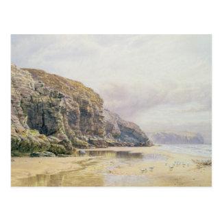 The Coast of Cornwall Postcard