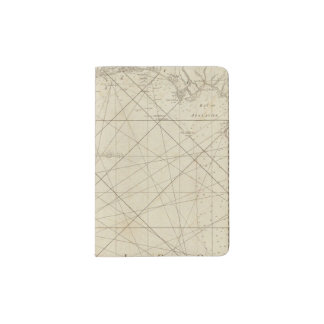 The Coast of West Florida and Louisiana Passport Holder