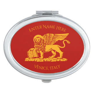 The Coat of Arms of Venice, Italy Compact Mirror