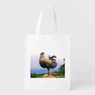 The cock reusable grocery bag