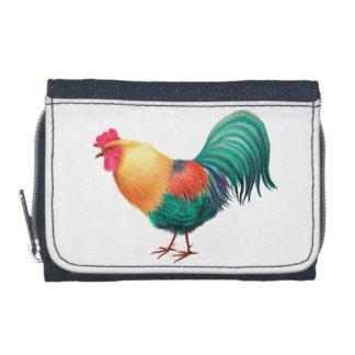 The Cockerel Denim Wallet