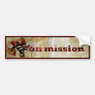 The Code2 - On Mission Bumper Sticker