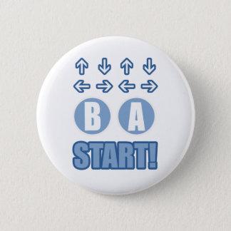 The Code 6 Cm Round Badge