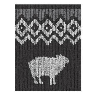 The Code Of Sheep - Icelamb Postcard