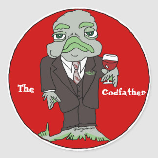 The Codfather Custom Sticker