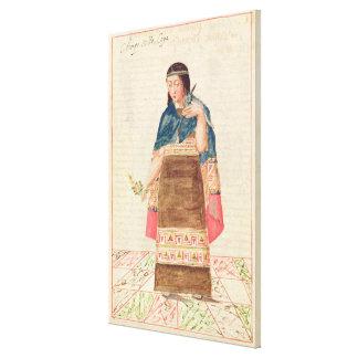 The Codice Murua Canvas Print