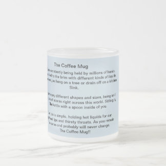The Coffee Mug- Poetry On a Cup