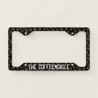 The Coffeemobile Coffee Lover's - Custom Licence Plate Frame