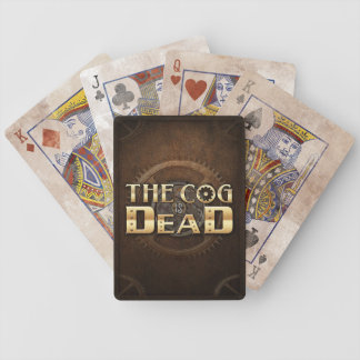 The Cog is Dead - Bicycle Playing Cards