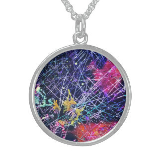 """""""The Cold Silence"""" Sterling Necklace"""