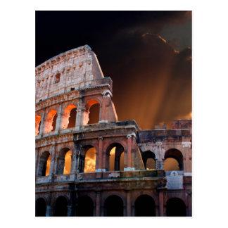 The Coliseum of Ancient Rome Postcard
