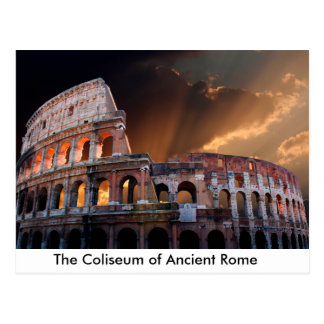 The Coliseum of Ancient Rome Postcard
