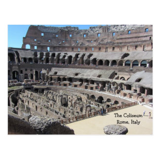 The Coliseum - Rome Italy Postcard