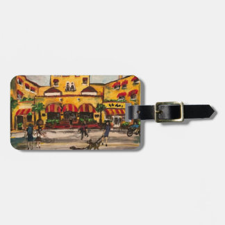 """The Colony Hotel at Delray Beach"" Luggage Tag"