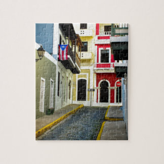 the color of old San Juan Puerto Rico Jigsaw Puzzle