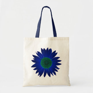 The Color of Sunflowers Tote Bag - Blue