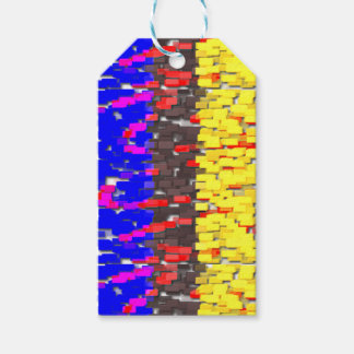 The Colored Building Blocks Gift Tags