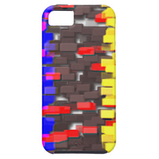 The Colored Building Blocks iPhone 5 Cover