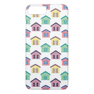 The Colorful Beach Houses iPhone 7 Plus Case