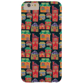 The Colorful Houses Pattern iPhone 6 Plus Case