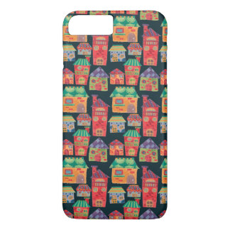 The Colorful Houses Pattern iPhone 7 Plus Case