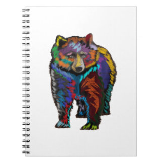 THE COLORFUL SHOW SPIRAL NOTEBOOK