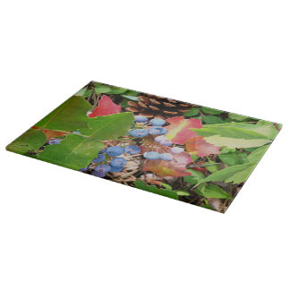 The Colors of Fall Cutting Board Landscape