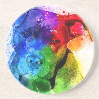 The colors of Love are a Pitbull Coaster