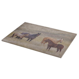 The Colors Of The Front Range Horse Cutting Board