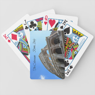 The Colosseum in Rome, Italy Bicycle Playing Cards